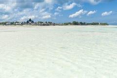 Océano hermoso y la playa Fotografía de archivo libre de regalías
