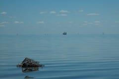 Océano infinito Foto de archivo libre de regalías