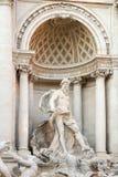 Océano, la estatua principal de la fuente del Trevi Foto de archivo libre de regalías