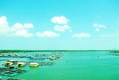 Océano largo del hijo - Vietnam Imagen de archivo libre de regalías
