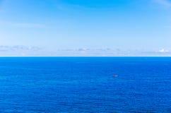 Océano pacífico Imágenes de archivo libres de regalías