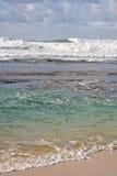 Océano Pacífico alrededor de Oahu Fotos de archivo libres de regalías