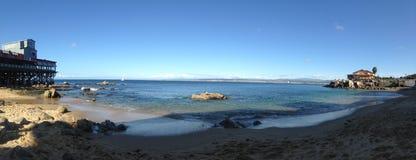 Océano Pacífico en California central Foto de archivo libre de regalías