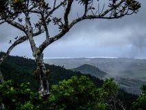 Océano que agita antes de la tormenta Imagen de archivo libre de regalías