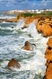 Océano tempestuoso Foto de archivo libre de regalías