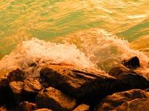 Océano y rocas Imagen de archivo libre de regalías