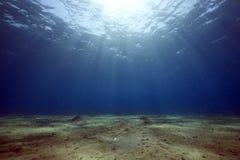 Océano y sol foto de archivo