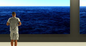 océans illustration libre de droits