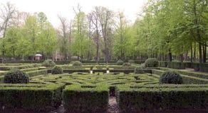 Oca gardens with trees Stock Photo