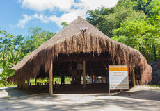 Oca - House of Native Brazilian Indians Royalty Free Stock Photos