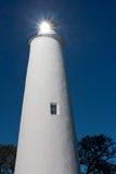 Ocacroke Insel-Leuchtturm Stockfotos