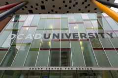 OCAD University Low Angle View, Toronto, Canada royalty free stock images