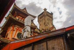 Ocampo Pagoda. Manila, Philippines. Ocampo Pagoda on street in Manila, Capital Philippines royalty free stock photography