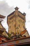Ocampo Pagoda. Manila, Philippines. Ocampo Pagoda on street in Manila, Capital Philippines stock photo