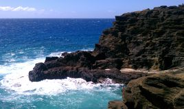 Océan d'Hawaï Photo libre de droits
