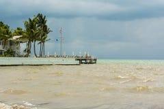 Océan orageux Key West Image stock