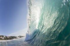 Océano del poder de onda Fotos de archivo libres de regalías