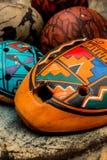 Ocarina antique indigène Photo libre de droits