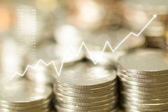 Ocasião de magnífico para o crescimento do negócio imagem de stock royalty free