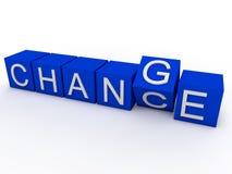 Ocasión de cambiar stock de ilustración