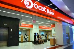 OCBC银行新加坡 图库摄影