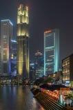 OCBC-Bank in Singapur Stockfotografie
