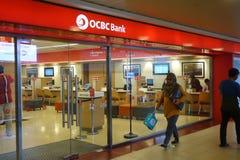 OCBC Chinese De ultramar Banking Corporation fotos de archivo libres de regalías