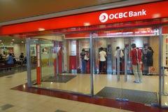 OCBC Chinese De ultramar Banking Corporation fotos de archivo
