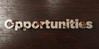 Occasions - titre en bois sale sur l'érable - image courante gratuite de redevance rendue par 3D illustration stock