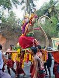 Occation de festival de temple de melam de Chenda @ Images libres de droits