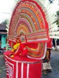 Occation di festival del tempio del melam di Chenda @ Immagini Stock