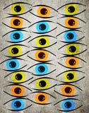 occhi Fotografia Stock