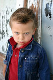 Occhi arrabbiati Fotografia Stock