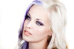 Occhi azzurri immagini stock libere da diritti