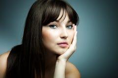 Occhi azzurri fotografie stock libere da diritti
