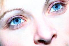 Occhi azzurri Immagine Stock Libera da Diritti