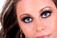 Occhi azzurri. immagini stock libere da diritti
