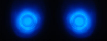 Occhi d'ardore Fotografia Stock