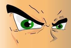 Occhi dei ragazzi di Manga Immagini Stock