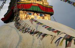 Occhi del Buddha Immagini Stock