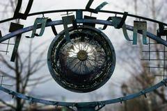 Occhi del ferro Fotografie Stock Libere da Diritti
