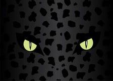 Occhi del giaguaro. royalty illustrazione gratis