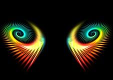 Occhi del Hera Illustrazione di Stock