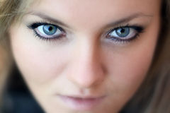Occhi della donna. Immagini Stock
