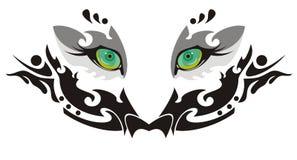 Occhi della tigre Fotografie Stock Libere da Diritti