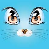 Occhi di gatto Immagine Stock Libera da Diritti