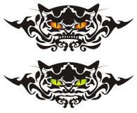 Occhi di gatto tribali Fotografie Stock Libere da Diritti