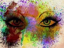 Occhi di lerciume Fotografia Stock