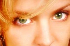 Occhi di Womans immagini stock