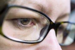Occhi femminili Immagine Stock Libera da Diritti